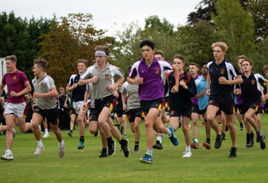 Pearl & Yeo Cup 2019 boys race on top field
