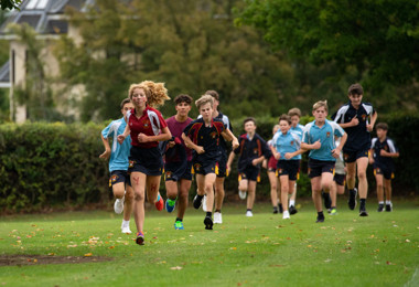 Senior School runners in Pearl & Yeo Cup 2019