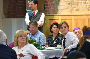 Bishop's Stortford College hosts Senior Citizen's Christmas Party