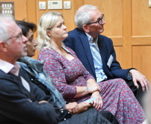 Guests listen to talks in FLT for 1969 Reunion