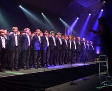 Sutton House boys unison in House Music 2019