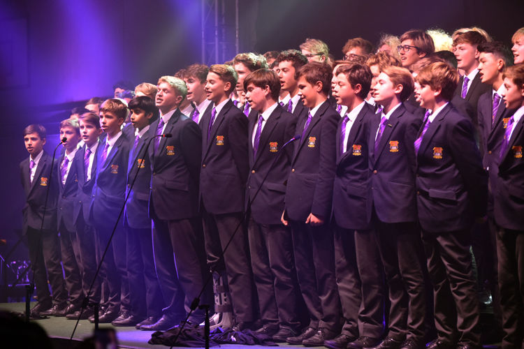 Hayward House boys sing House Music unison 2019