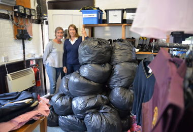 Sales of Second Hand Uniform Go To Charity