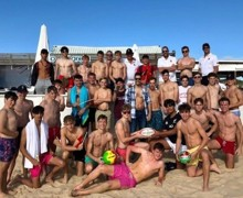 Portugal rugby tour 2019 group photo
