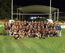 Senior school portugal rugby tour team oct 19