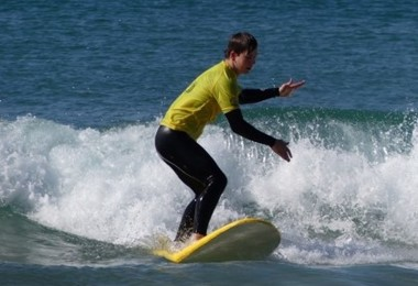 Surfing on portugal rugby tour october 2019