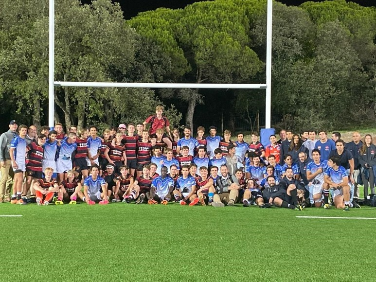 Portugal rugby tour 2019 team with opposition
