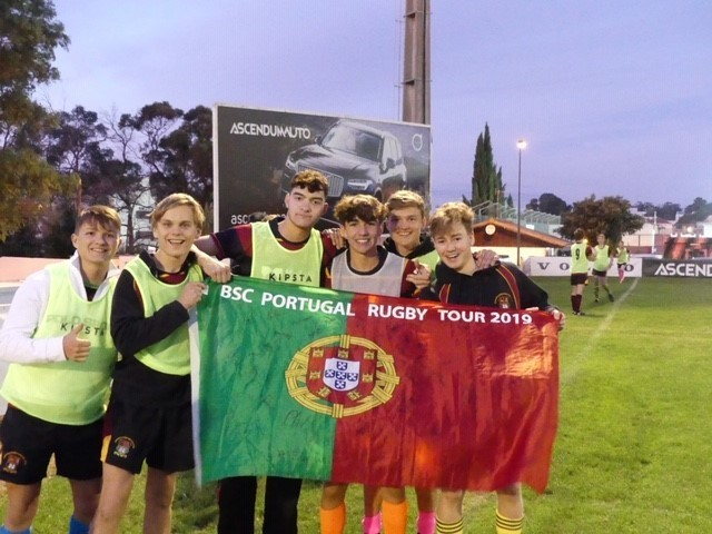 Senior school portugal rugby tour 2019