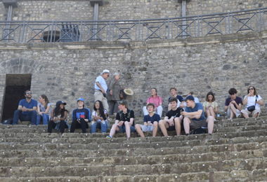 Senior School half term Classics Trip 2019
