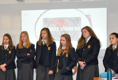 4th Form Houses Stand Up for Anti-Bullying