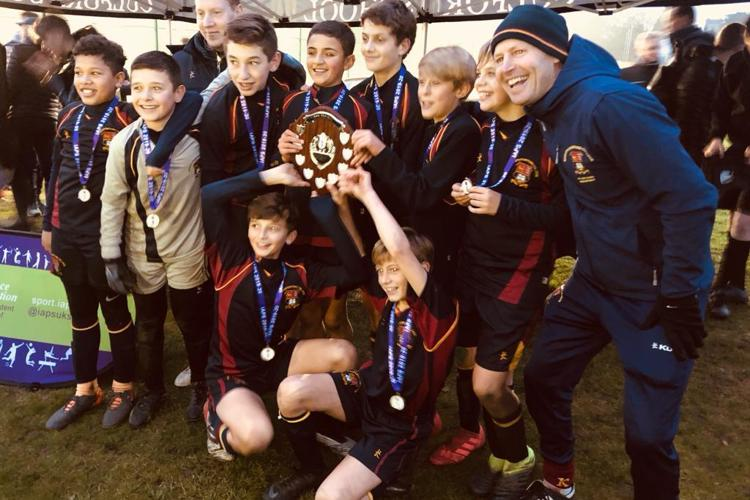 U13 iaps football cup winners