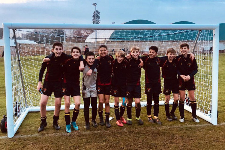 U13 iaps football cup winning team 2019