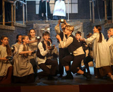 Senior School performance of Oliver on stage 2019
