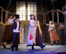 The Artful Dodger dancing with Oliver 2019