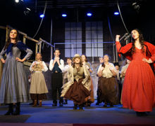Singing and dancing in Oliver 2019