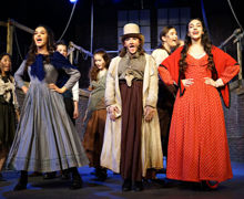 Singing performance in Oliver 2019