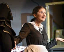 Actress in Oliver November performance 2019