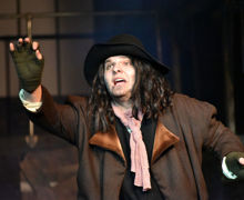 Harry B as Bill Sykes in Oliver November 2019