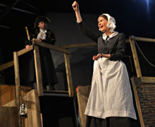Senior School actors perform in Oliver production 2019