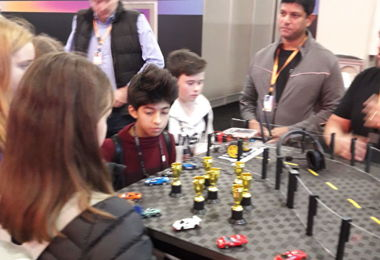 Connect Hearo pupils enjoy AWS Convention in Las Vegas