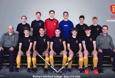 U16 boys indoor hockey team natl finals 2020
