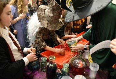Prep School pupils have fun at Harry Potter Night 2020
