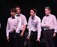 Collett singers in part song House Music 2019