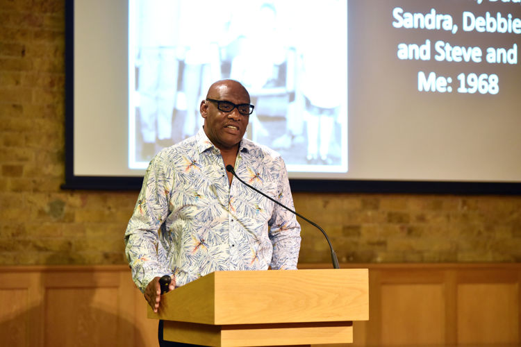 Shaun Wallace at Festival of Literature 2020