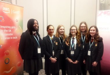 Pupils' Afternoon Tea at Women in IT Awards