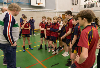 Prep School pupils enjoy cricket session with Matthew Hoggard