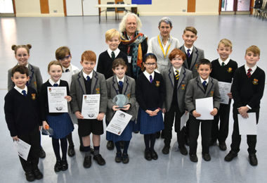 Prep School Pupils Say it with Poetry