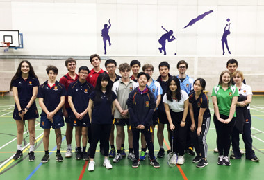 Badminton Teams Double Down for Thrilling Fixture