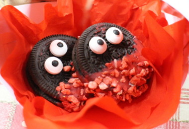 Oreo Valentine's Day cookies in Grimwade
