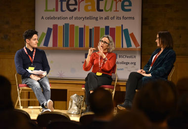 Festival of Literature talk with Emma Curtis & Tammy Cohen