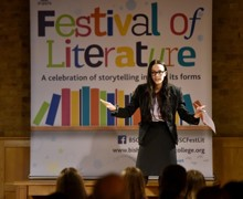 Literature Live 2020 performance