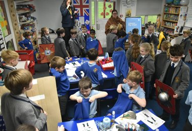 Roman Invasion at Pre-Prep