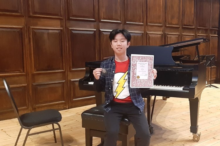 Justin M Piano Competition
