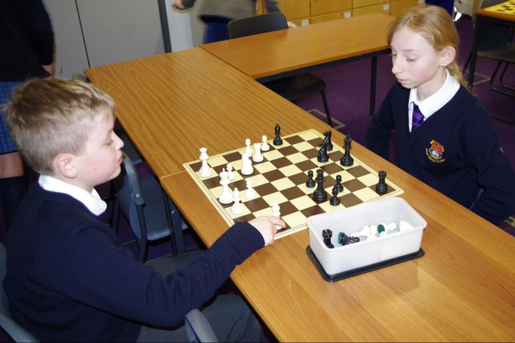 Prep School Chess Match Courtman Cup
