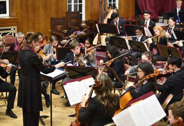 Ensembles' Concert Entertains