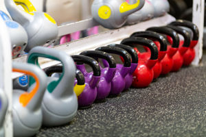 Kettlebell weights sports equipment