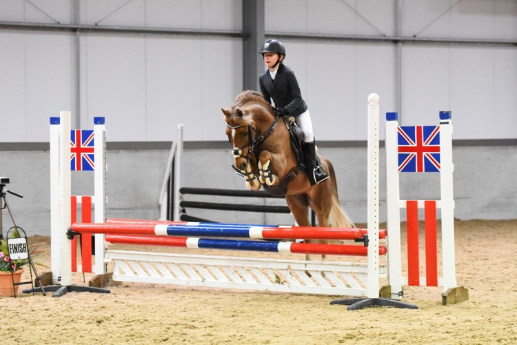 Tilly showjumping 2