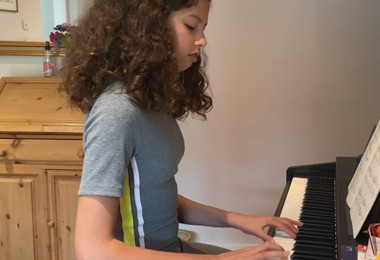 Home concert piano