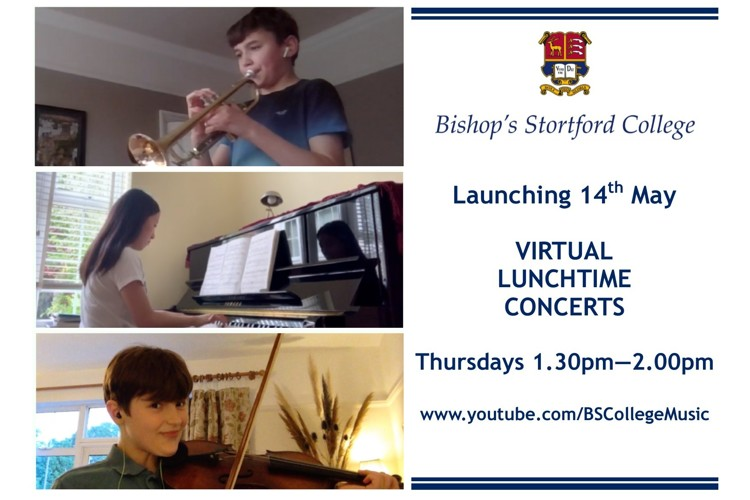 Virtual lunchtime concerts