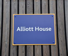 Alliott House Sign