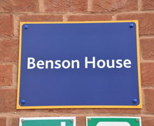 Benson House Sign