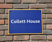 Collett House Sign