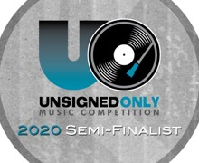 Unsigned only 2020 competition semi-finalist logo