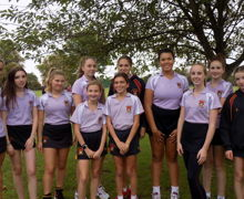 Alliott House Girls ready for sport