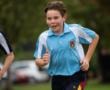 Collett House Boy Running