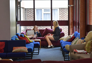 Young House Girls in Common Room